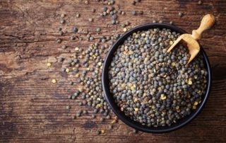 Lentilles en conversion bio